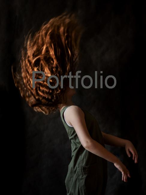 red hair girl - fotografia portretowa w warszawie